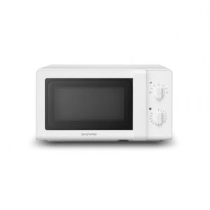 DAEWOO Microwave oven KOR-6627W 20 L, Rotary, 700 W, White, Defrost function, Free standing
