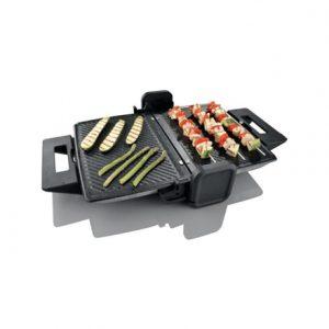 Gorenje Midi KR1800DS  Black, 1800 W, 39 x 32 cm, Contact grill