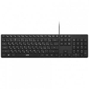 Acme Keyboard Right Now KS07 Slim, Wired, Keyboard layout LT/EN/RU, USB, Black, No, Wireless connection No, LT/EN/RU, Numeric keypad
