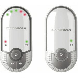 Motorola MBP11 White, Digital Audio Baby Monitor, wireless connection