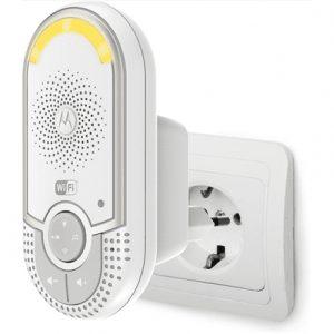 Motorola MBP162connect White, Wi-Fi Audio Monitor with Unlimited Range