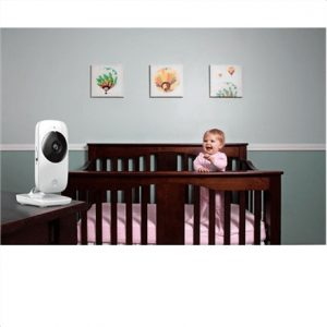 Motorola MBP482 White, No, Baby Video Monitor, Wireless