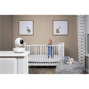 Motorola MBP55 White, Baby Monitor, Wireless