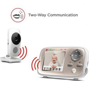 Motorola MBP667connect White,  Wi-Fi Video Baby Monitor, Wireless