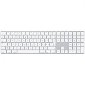 Apple Magic Keyboard with Numeric Keypad Wireless, Keyboard layout English, Swedish