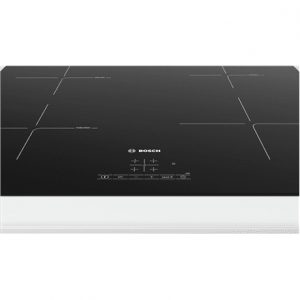 Bosch Hob PUE611BB1E Induction, Number of burners/cooking zones 4, Black, Display, Timer