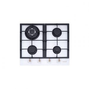 CATA Gas On Glass, Number of burners/cooking zones 4, White,