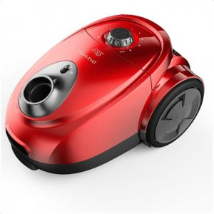 DAEWOO Vacuum cleaner  RGJ-230R/2A Bagged, Red, 700 W, 3.5 L, 82 dB, HEPA filtration system,