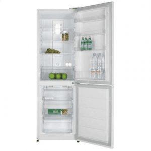 DAEWOO Refrigerator RN-271NPW Free standing, Combi, Height 180 cm, A+, No Frost system, Fridge net capacity 157 L, Freezer net capacity 83 L, White