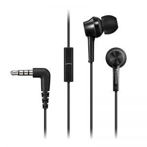 Kõrvaklapid Panasonic, mikr. kõrvasisene,must