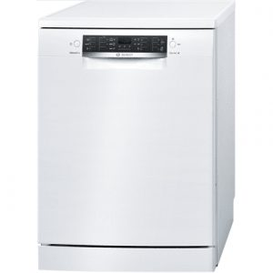 Bosch Dishwasher SMS46KW01E Free standing, Width 60 cm, Number of place settings 13, Number of programs 6, A++, Display, AquaStop function, White