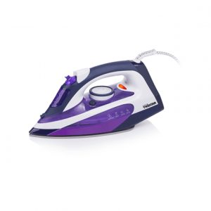Iron Tristar ST-8143 Purple/White, 2200 W, With cord, Continuous steam 25 g/min, Steam boost performance 85 g/min, Anti-drip function, Anti-scale system, Vertical steam function, Water tank capacity 240 ml