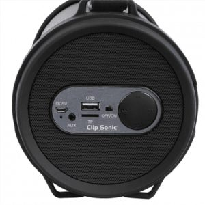 ClipSonic Compatible Bluetooth® boombox speaker  TES162 Speaker type Portable, USB, Bluetooth version v2.1, Black, 12 W
