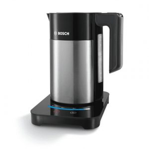 Bosch Kettle TWK7203 With electronic control, Stainless steel, Stainless steel/ black, 2200 W, 360° rotational base, 1.7 L