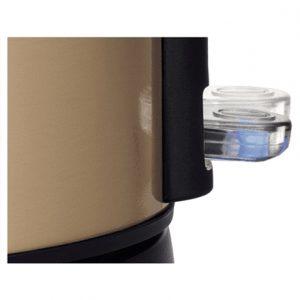 Bosch Kettle TWK7808 Standard, Stainless steel, Gold, 2200 W, 360° rotational base, 1.7 L