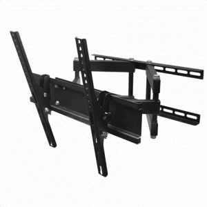 """Gembird Wall mount, WM-55RT-03, 26-55 """", Turn, Tilt, Maximum weight (capacity) 50 kg, VESA 400×400 mm, Black"""