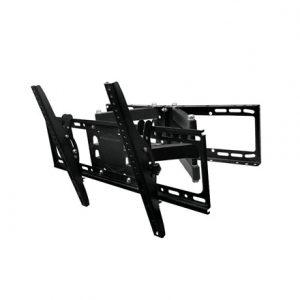 """Gembird Wall mount, WM-80RT-01, Turn, Tilt, 32-80 """", Maximum weight (capacity) 50 kg, VESA 600×400 mm, Black"""