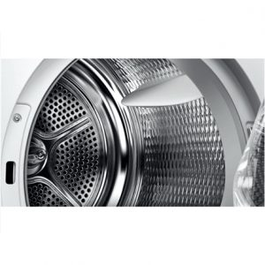 Bosch Dryer WTY88898SN Condensed, Heat pump, 8 kg, Energy efficiency class A+++, Self-cleaning, White, Depth 63.4 cm, TFT,