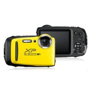 "Fujifilm FinePix XP130 Compact camera, 16.4 MP, Optical zoom 5 x, Digital zoom 10 x, Image stabilizer, ISO 6400, Display diagonal 3 "", Wi-Fi, Focus TTL, Video recording, Li-ion battery, Yellow"