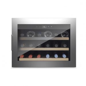 Caso Wine cooler WineSafe 18 EB  Built-in, Bottles capacity 18, Stainless steel