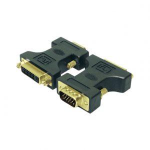 LogiLink® DVI Adapter DVI-I female – VGA DSUB male  Logilink