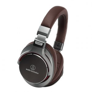 Audio Technica ATH-MSR7GM 3.5mm (1/8 inch), Headband/On-Ear, Brown, Grey