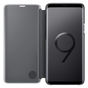 Samsung Galaxy S9+ Clear View Standing kaaned, must