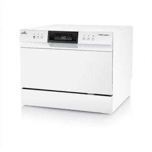 ETA Dishwasher ETA138490000 Free standing, Width 55 cm, Number of place settings 6, Number of programs 8, A+, Display, AquaStop function, White