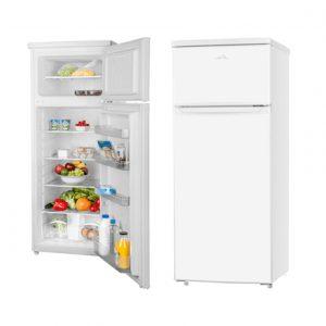 ETA Refrigerator ETA236590000 Free standing, Double door, Height 143 cm, A++, Fridge net capacity 171 L, Freezer net capacity 41 L, 42 dB, White