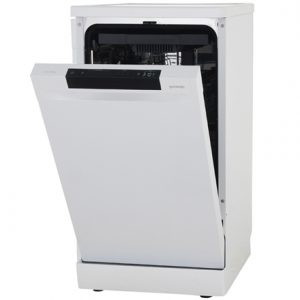 Gorenje Dishwasher GS54110W Free standing, Width 45 cm, Number of place settings 10, Number of programs 5, A++, Display, AquaStop function, White